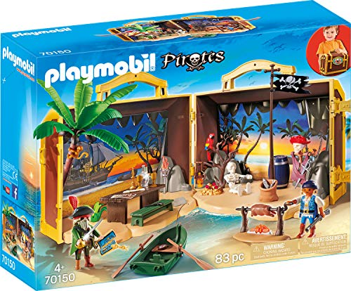 Playmobil 70150 Bateau de pirate, Multicolore - Version Allemande