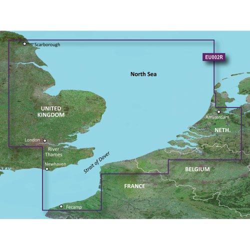 Garmin BlueChart g2 Vision - Dover to Amsterdam and England Southeast JUL 08 (EU002R) 010-C0761-00