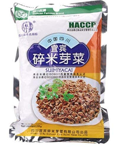Yi Bin Sui Mi Ya Cai - YiBin SuiMiYaCai - Dried Vegetable, 8.1oz (230g)