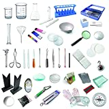 High Quality 43+ Lab Items Includes User Guide Useful for Curriculum-based Experiments Useful for fun-based Experiments Learn with Hands-on Experience Does not include Chemicals