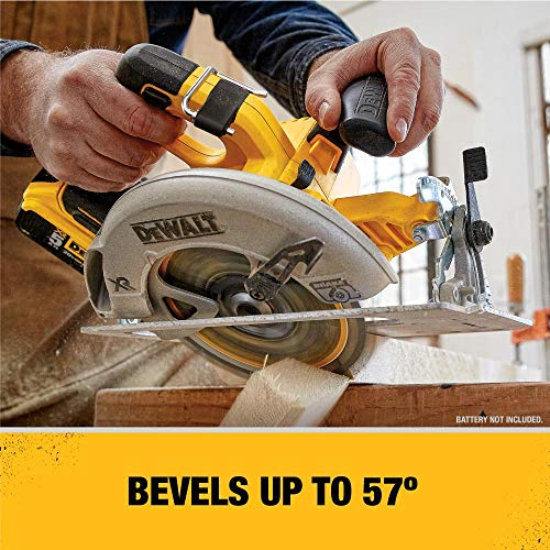 DEWALT 20V MAX 7-1/4-Inch Cordless Circular Saw with Brake Kit (DCS570P1)