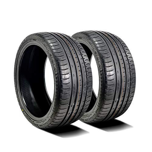 Accelera Iota ST68 Performance All-Season Radial Tires-265//40R20 104V XL Set of 2 TWO