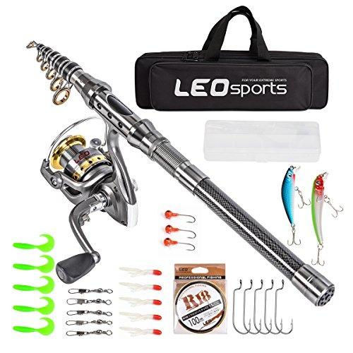 Best Combo Telescopic Fishing Rod for Beginners