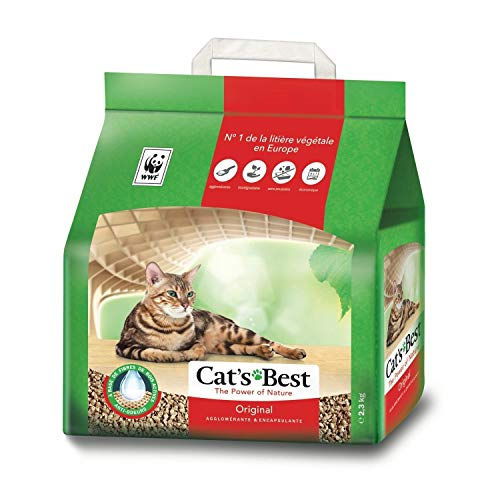 Cat's Best Cata € ™ S Beste Original Litiã¨Re für Katzen vA © ga © Tale 2.3kg (3er-Pack) 1