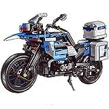 FYHCY Motocicleta de tecnología para BMW R 1200 GS, 922+ Bloques de terminales súper Motocicleta, Motocicleta de Carreras mecánicas Compatible con Lego