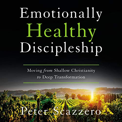 Emotionally Healthy Discipleship cover art