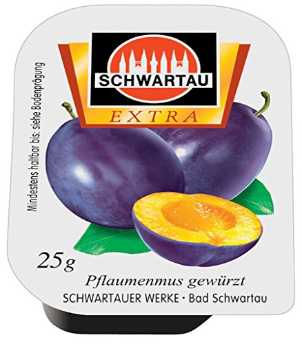 Schwartau Schwartau pflaumenmus100x25g9001, 1er Pack (1 x 2.5 kg)