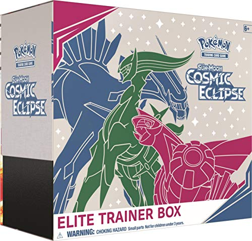 Pokémon POK80605 TCG: Sun & Moon 12 Cosmic Eclipse Elite Trainer Box