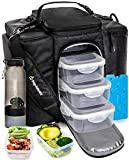 Best Lunch Coolers - Meal Prep Bag Meal Prep Lunch Box Men Review