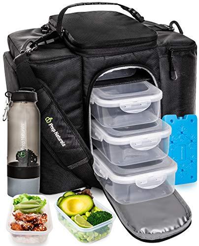 Meal Prep Bag Meal Prep Lunch Box Men - Meal Prep Lunch Bag for Men Lunch Box for Men with Containers - Meal Prep Lunch Boxes Meal Prep Backpack
