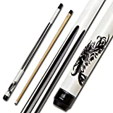 Collapsar 2- Piece Pool Cue with 13mm Glued on Tip...