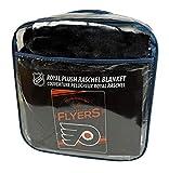 Northwest Philadelphia Flyers Established 1967 Raschel Plush 60x80 Twin Size Throw Blanket