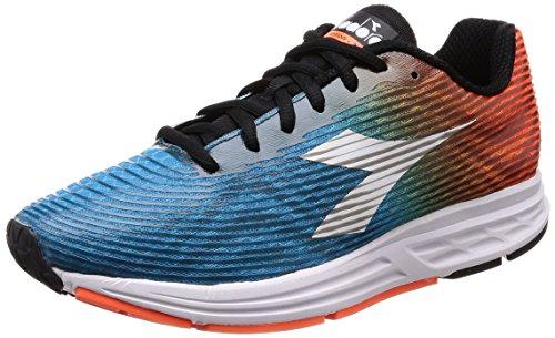 Diadora Action +3, Zapatillas de Running Hombre, Naranja (Arancio Flameblu Stellare), 44.5 EU