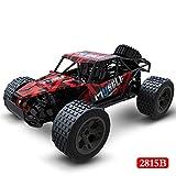 NANE RC Cars Monster véhicule Tout-Terrain Voiture de Jouet pour Enfants 2.4Ghz 2WD Haute Vitesse 1:20 Radio Rock Climber Truck télécommande Voitures,2815 Red