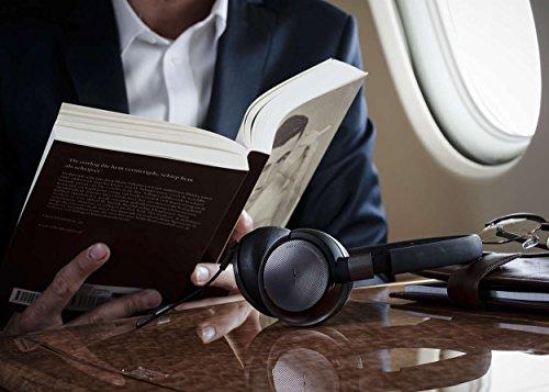 Philips Fidelio NC1 faltbarer Noise Cancelling On-Ear-Kopfhörer schwarz