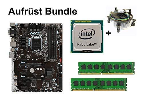 Aufrüst Bundle - MSI Z170-A PRO + Intel Core i7-7700 + 32GB RAM #112730