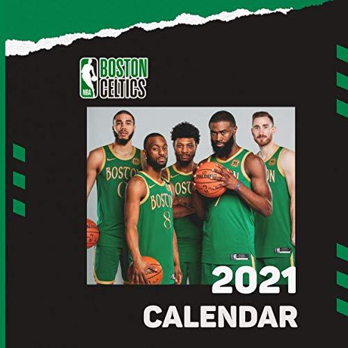 Boston Celtics: 2021 Wall Calendar - Large 8.5' x 17' When Open - 12 Months