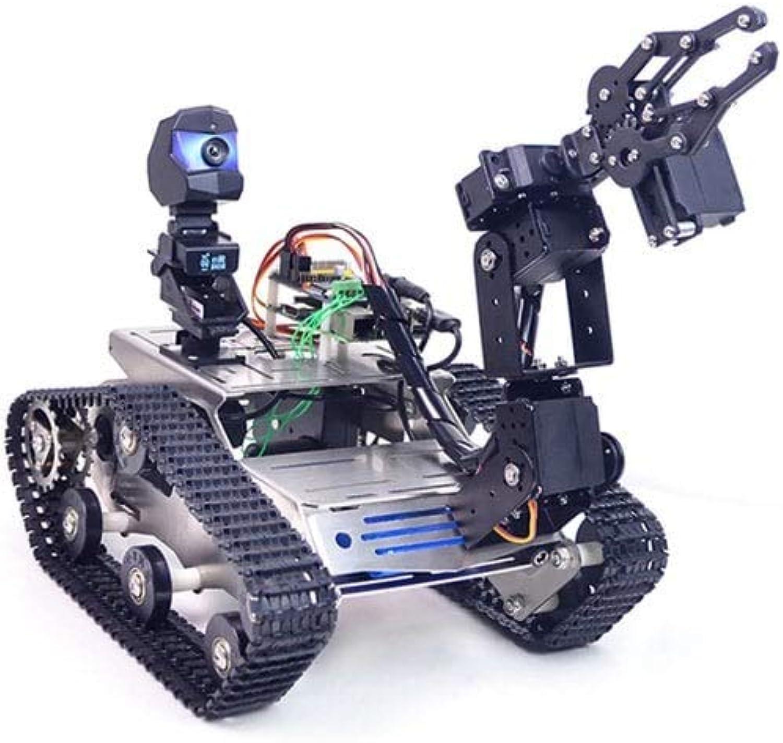 tienda en linea Madat WiFi azultooth4.2 Kit de Robot robótico de Video Video Video Inteligente para Raspberry Pi 3B + - negro A1 Standard Claw Arm  100% garantía genuina de contador