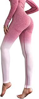 high waisted ombre leggings