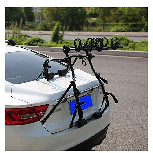 LJIANW Maletero O Enganche 1-3 Bicicleta Hangable Espesar Material Capacidad De Carga Poderoso Sin Perforaciones, 3 Opciones, 90x60x45cm (Color : Black, Size : 1-Bike)
