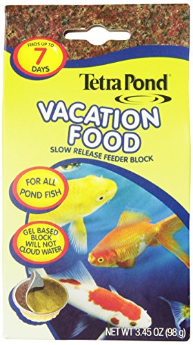 TetraPond Vacation Food Slow Release Feeder Block, 3.45 Ounce - 16477