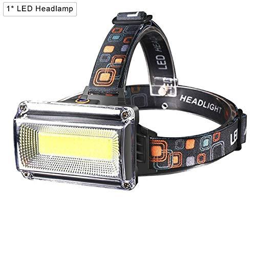 zcm Stirnlampe 8000lm Leistungsstarker LED-Scheinwerfer Dc Wiederaufladbarer Scheinwerfer Scheinwerfer Scheinwerfer wasserdichte Jagd Angelbeleuchtung
