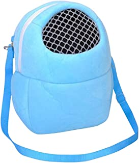 Pet Accessories- Pet Carry Backpack Cotton Velveteen Packsack Breathable Bag Portable Nest for Hamster Squirrel Guinea Chi...