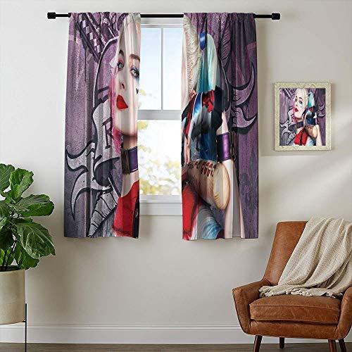 51LfWlsUGEL Harley Quinn  Curtains