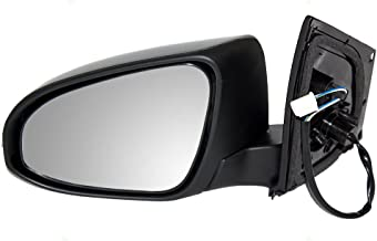 TYC 5230642 Toyota Corolla Left Non-Heated Replacement Mirror