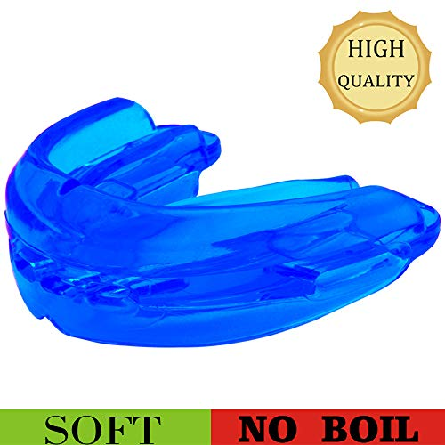 Teeth Walls Sport Mouth Guard - Youth Mouthguard for Braces - Sparring Mouth Guard - Large Size, Premium Quality No Boiling Required,Football,...