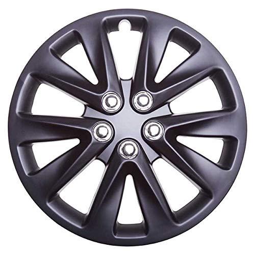 TopTech Motion 14 Inch Wheel Trim Set Gloss Black Set of 4 Hub Caps Covers