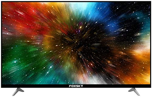 Foxsky 139.7 cm (55 inches) 4K Ultra HD Smart LED TV 55FS-VS (Black) (2021 Model)   With Voice Assistant