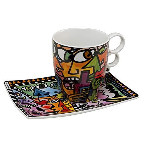 Goebel Eye to Eye - Künstlerbecher Artis Orbis - Pop Art 19,50 x 13,50 x 12,00 cm [A]