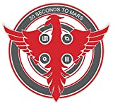 30 seconds to Mars music Jared Leto sticker decal 4' x 4'