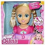 Love, Diana Deluxe Styling Head Playset con Accesorios para el Pelo (Vivid Toy Group 79851)