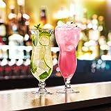 Arcoroc ARC 54584 Hurricane Cocktailglas, Cocktailschale, 440ml, Glas, transparent, 6 Stück - 6