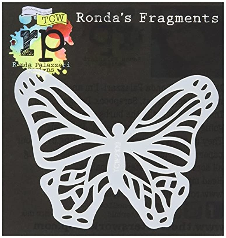 CRAFTERS WORKSHOP TCW2109 Fragments Templates, 4