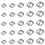 TsunNee Metall-Rollschnallen für Taschen, Leder-Gürtel, Dornschließen, 75 Stück, Handarbeits-...
