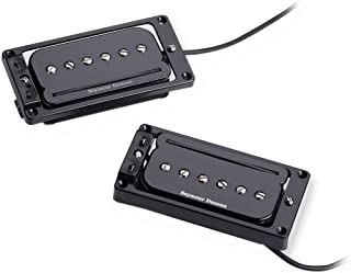 Seymour Duncan 11303-03-B1 P-Rails with LP Triple Shot Set (Arched Top) - Black