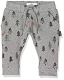 Noppies Baby-Jungen B Pants Regular Amherst AOP Hose, Grau (Charcoal Melange P206), (Herstellergröße: 86)