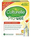Culturelle Pro-Well Immune + Energy Daily Probiotic Drink Mix |Helps...