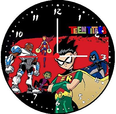 Quartz Teen Titans Theme Wall Decor Clock