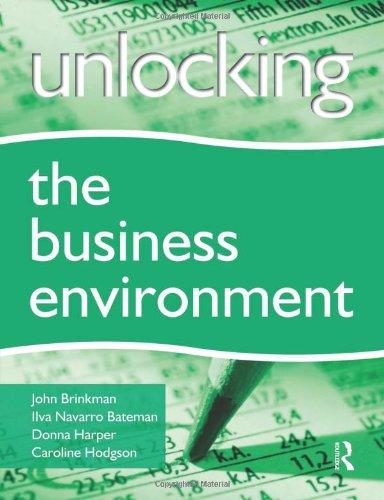 Unlocking the Business Environment