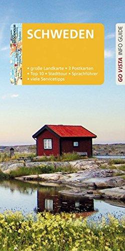 GO VISTA: Reiseführer Schweden: Mit Faltkarte und 3 Postkarten