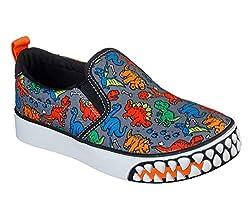 3. Skechers Boys Growlers Dinosaur Toddler Shoes