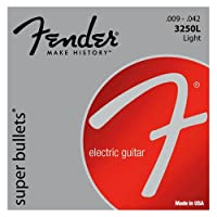Fender エレキギター弦 SUPER BULLETS 3250L