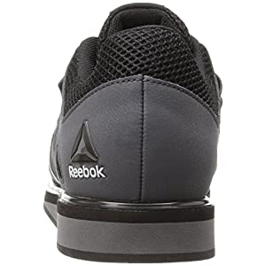Reebok Men's Lifter Pr Cross-Trainer Shoe, Ash Grey/Black/White, 12 M US