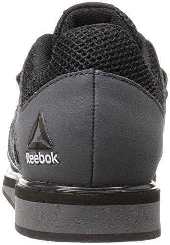Reebok Lifter Pr, Chaussures de Fitness Homme,Gris (Ash Grey/Black/White Ash Grey/Black/White) ,42EU