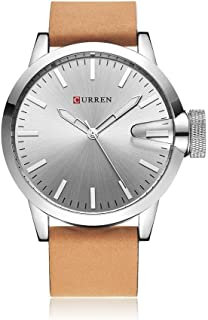 Curren Casual Watch For Men Analog Leather - M8091