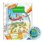 tiptoi Libro de Collectix Ravensburger de Alemania – Escuela primaria + pegatina de mapa del mundo para niños
